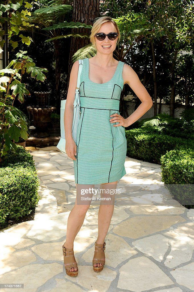 Radha Mitchell attends Lorena Sarbu Resort 2014 Luncheon at on July 24, 2013 in Beverly Hills, California.