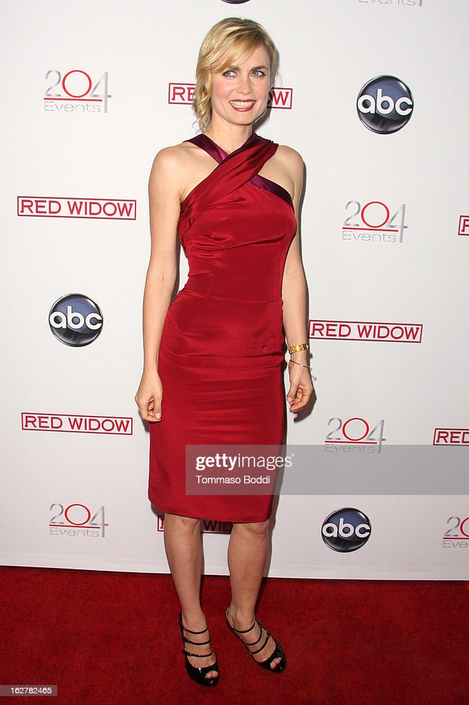 Radha Mitchell attends the ABC's new series 'Red Widow' held at Romanov Restaurant Lounge on February 26, 2013 in Studio City, California.