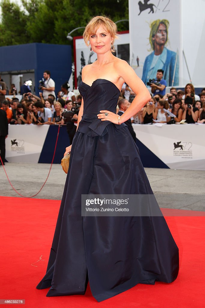 Radha Mitchell attends the opening ceremony and premiere of 'Everest' during the 72nd Venice Film Festival on September 2, 2015 in Venice, Italy.