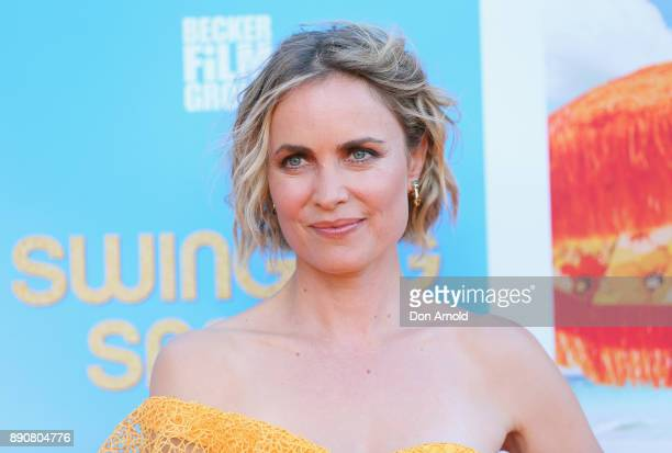 Radha Mitchell attends the world premiere of Swinging Safari on December 12 2017 in Sydney Australia