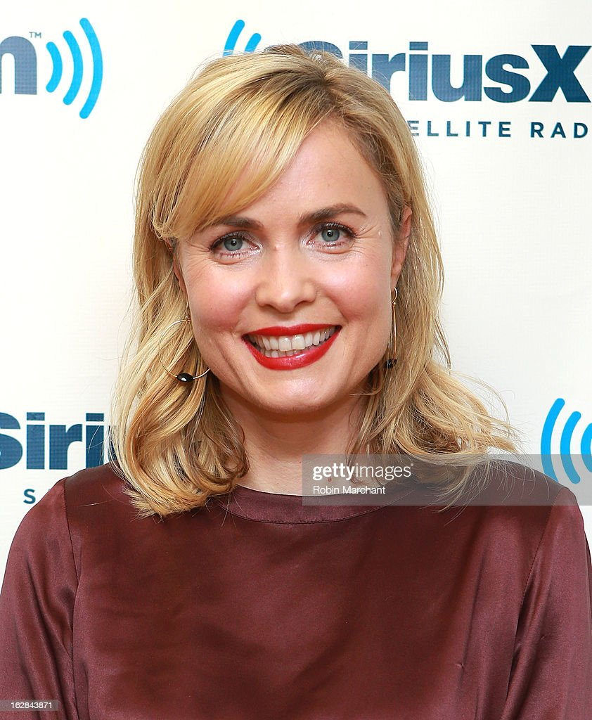 Radha Mitchell visits at SiriusXM Studios on February 28, 2013 in New York City.