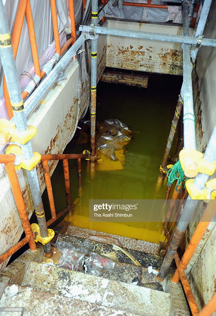 Radiation Contaminated Water Floods The Basement Of The No.4 Reactor At  Tokyo Electric