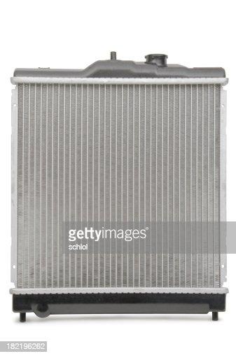Radiator isolated on white