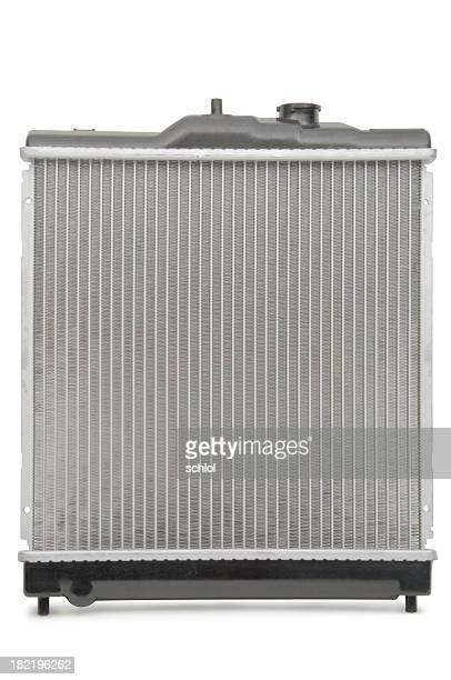 Radiator isolated on white