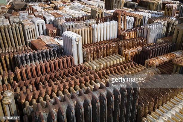Radiator salvage yard in Massachusetts