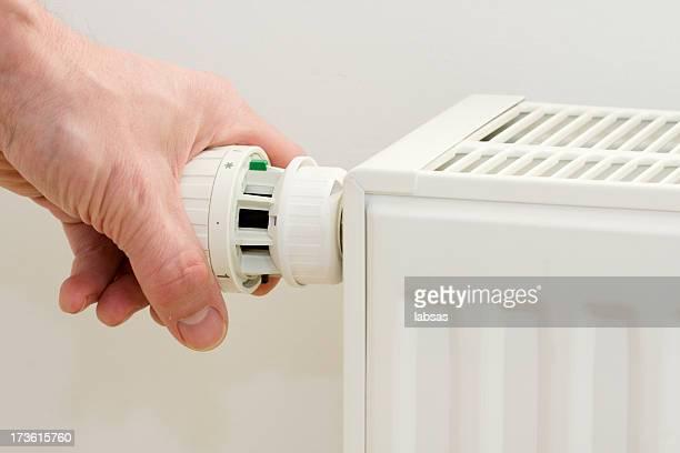 Radiator. Save energy and money concept.
