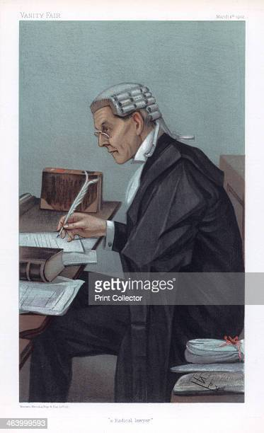 'A Radical Lawyer' 1902 John Lawson Walton KC MP British barrister and politician Walton served as Attorney General from 19051908 Cartoon from Vanity...