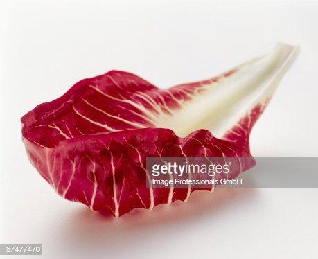 A Radicchio Leaf