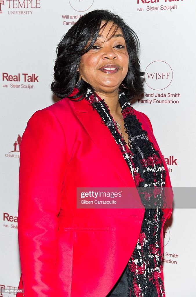 Radio Air Personality Lady B attends Will Smith And Sister Souljah In Discussion: 'A Deeper Love Inside: The Porsche Santiaga Story' at Temple Performing Arts Center on February 2, 2013 in Philadelphia, Pennsylvania.