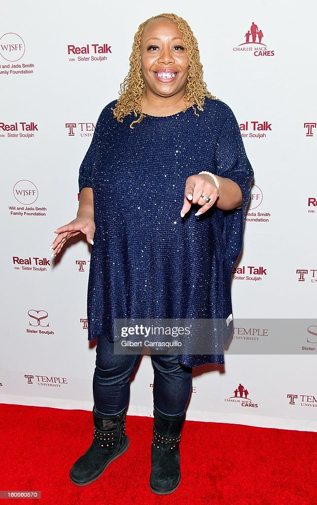 Radio Air Personality Patty Jackson attends Will Smith And Sister Souljah In Discussion: 'A Deeper Love Inside: The Porsche Santiaga Story' at Temple Performing Arts Center on February 2, 2013 in Philadelphia, Pennsylvania.