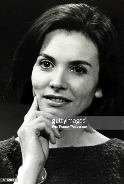 25th November 1965 Joan Bakewell born 1933 English radio and TVBroadcaster and writer pictured at the time she was presenting the BBC 's 'Late Night...