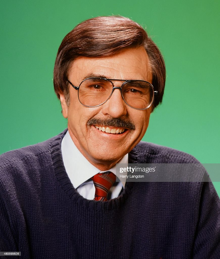 Radio Announcer Gary Owens poses for a portrait in 1997 in Los Angeles California
