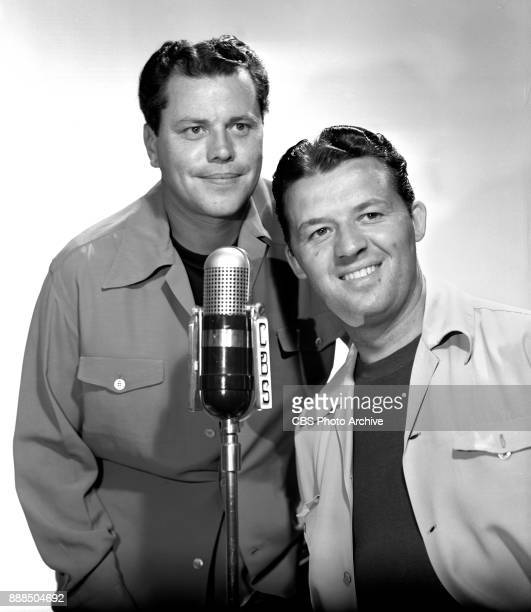 Radio barbershop music program SPEBSQSA features comedy team as hosts Donald Don Prindle and Wendell Wen Niles June 1 1941 Hollywood CA