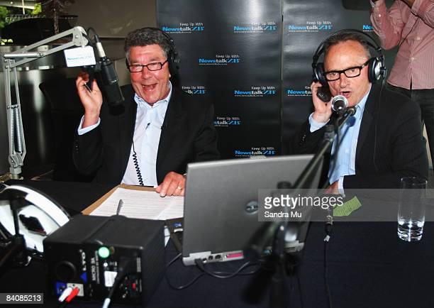 Radio broadcaster Paul Holmes calls Bill Francis general manager of Newstalk ZB while on air to tell him where to put his job as he signs off to...