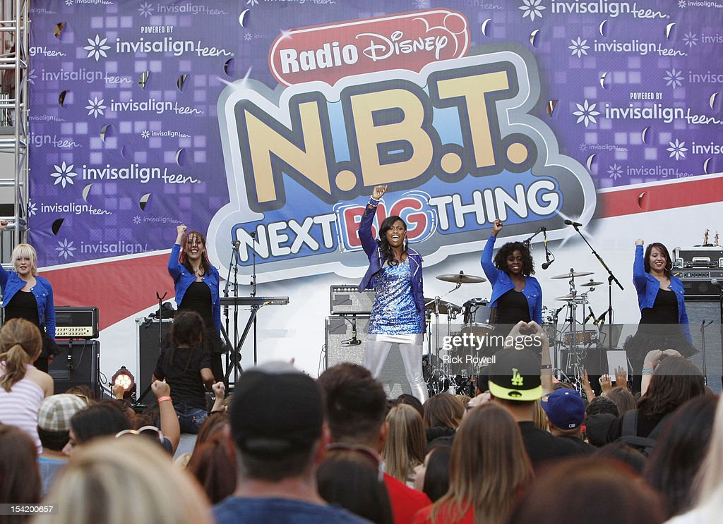 DISNEY - 'N.B.T.' - Radio Disney kicks off season five of 'N.B.T.' (Next BIG Thing) with a concert featuring R5, Coco Jones, Shealeigh and all season five artists. Hosted by Radio Disney 'N.B.T.' host Jake Whetter, and part of the 'N.B.T.' concert tour powered by Invisalign Teen, the performances took place at Hollywood & Highland Center in Hollywood, CA on Saturday, October 13. COCO