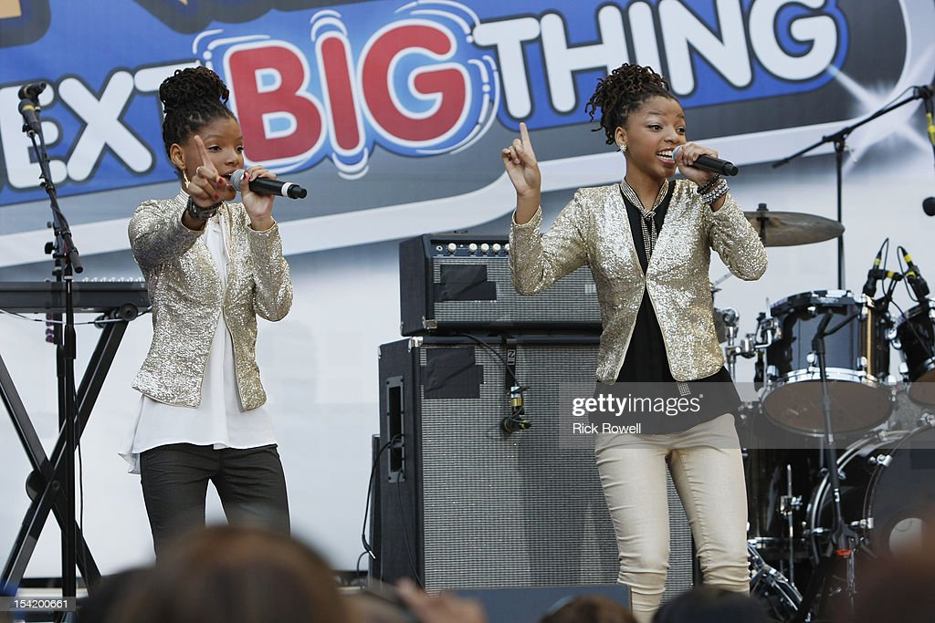 DISNEY - 'N.B.T.' - Radio Disney kicks off season five of 'N.B.T.' (Next BIG Thing) with a concert featuring R5, Coco Jones, Shealeigh and all season five artists. Hosted by Radio Disney 'N.B.T.' host Jake Whetter, and part of the 'N.B.T.' concert tour powered by Invisalign Teen, the performances took place at Hollywood & Highland Center in Hollywood, CA on Saturday, October 13. HALLE