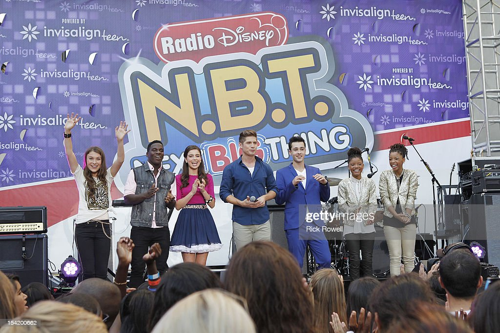 DISNEY - 'N.B.T.' - Radio Disney kicks off season five of 'N.B.T.' (Next BIG Thing) with a concert featuring R5, Coco Jones, Shealeigh and all season five artists. Hosted by Radio Disney 'N.B.T.' host Jake Whetter, and part of the 'N.B.T.' concert tour powered by Invisalign Teen, the performances took place at Hollywood & Highland Center in Hollywood, CA on Saturday, October 13. ELLE