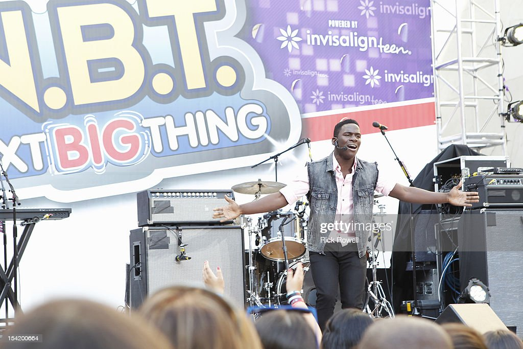 DISNEY - 'N.B.T.' - Radio Disney kicks off season five of 'N.B.T.' (Next BIG Thing) with a concert featuring R5, Coco Jones, Shealeigh and all season five artists. Hosted by Radio Disney 'N.B.T.' host Jake Whetter, and part of the 'N.B.T.' concert tour powered by Invisalign Teen, the performances took place at Hollywood & Highland Center in Hollywood, CA on Saturday, October 13. DAMIAN