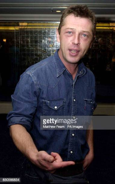 Radio DJ Andy Kershaw arrives at the Sony Radio Academy Awards at the Grosvenor House Hotel in London