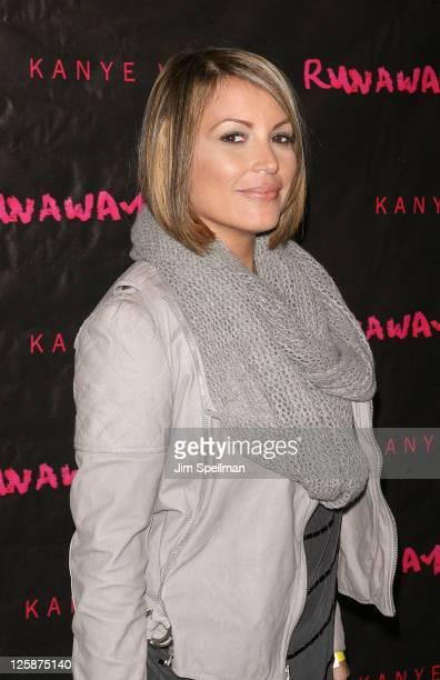 Radio DJ Angie Martinez attends the 'Runaway' New York premiere at Landmark's Sunshine Cinema on October 21 2010 in New York City