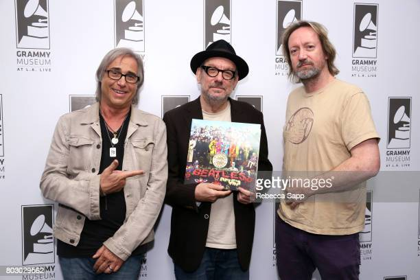 Radio DJ Chris Carter creator and host of The Record Theater Marvin Etzioni and author Brian Kehew attend The GRAMMY Museum Presents The Record...