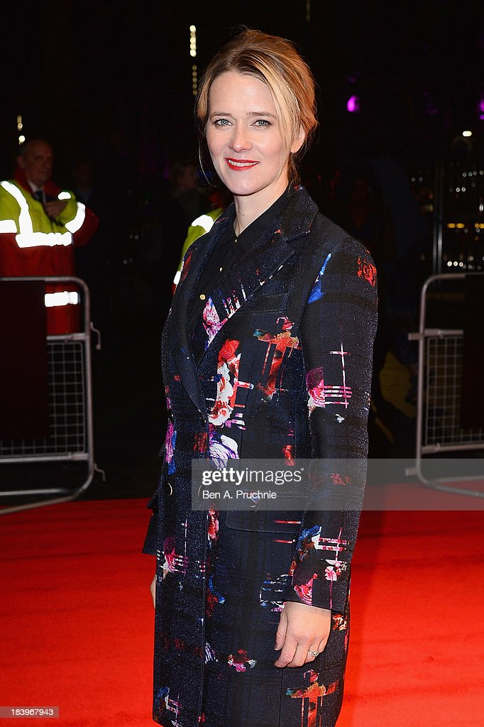 Radio DJ <a gi-track='captionPersonalityLinkClicked' href=/galleries/search?phrase=Edith+Bowman&family=editorial&specificpeople=209427 ng-click='$event.stopPropagation()'>Edith Bowman</a> attends a screening of 'Starred Up' during the 57th BFI London Film Festival at Odeon West End on October 10, 2013 in London, England.