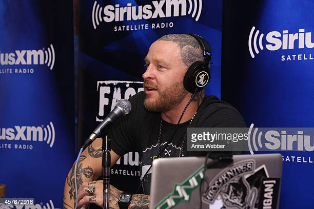 Radio DJ Jason Ellis during SiriusXM's The Jason Ellis Show Live From Hooters In New York at Hooters on October 22 2014 in New York City