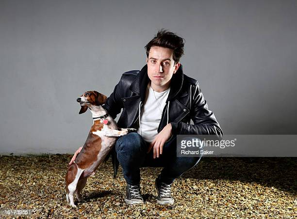 Radio DJ Nick Grimshaw is photographed for the Observer on December 9 2012 in London England