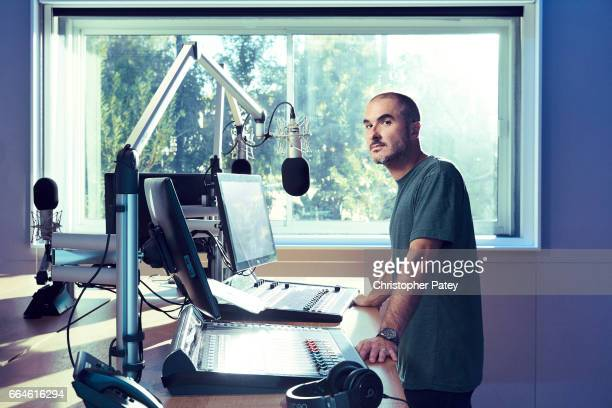 Radio DJ Zane Lowe is photographed for Billboard Magazine on November 8 2016 in Culver City California PUBLISHED IMAGE