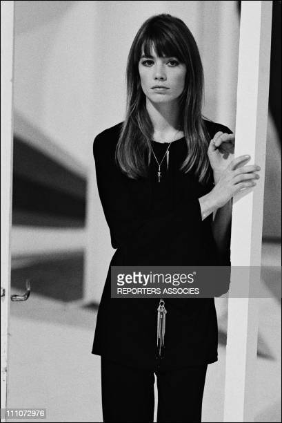 Radio Emission RTL Francoise Hardy in France on October 20 1969