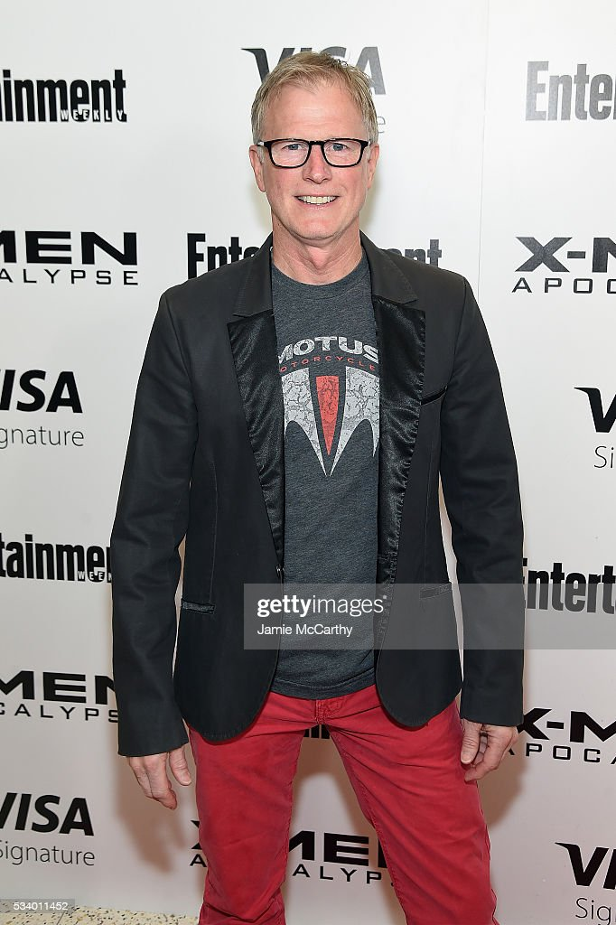 Radio host Alan Hunter attends the 'X-Men Apocalypse' New York screening at Entertainment Weekly on May 24, 2016 in New York City.