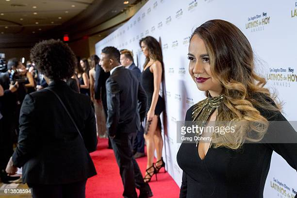 Radio Host and Honoree Patty Rodriguez arrives for the 2016 Latino's De Hoy Awards at the Dolby Theatre on October 9 2016 in Hollywood California