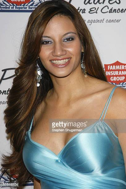 Radio host Argelia Atilano attends Eva Longoria Honored at Padres Contra El Cancer 20th Anniversary Gala at Skirball Cultural Center on March 31 2005...