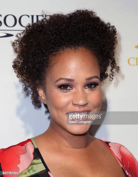 Radio host Breegan Jane attends the 53rd Annual Cinema Audio Society Awards at Omni Los Angeles Hotel at California Plaza on February 18 2017 in Los...