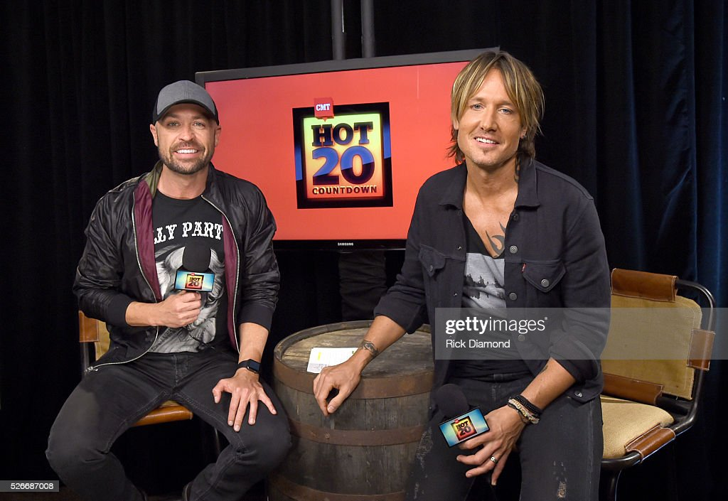 CMT radio host Cody Alan and singer <a gi-track='captionPersonalityLinkClicked' href=/galleries/search?phrase=Keith+Urban&family=editorial&specificpeople=202997 ng-click='$event.stopPropagation()'>Keith Urban</a> attend the 2016 iHeartCountry Festival at The Frank Erwin Center on April 30, 2016 in Austin, Texas.