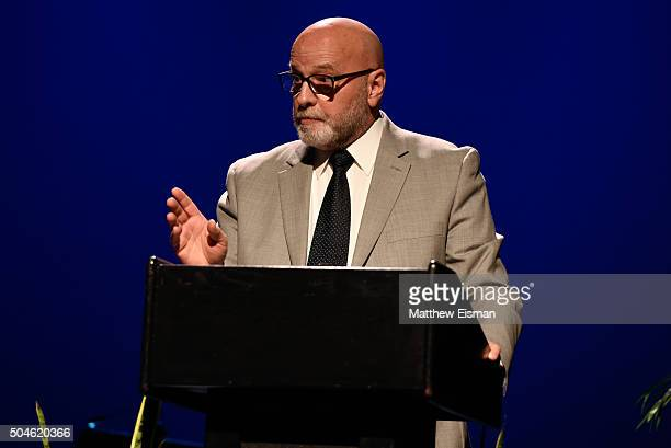 Radio host Gary Walker attends the 2015 Lena Horne Schools That Can Benefit Concert at Symphony Space on January 11 2016 in New York City