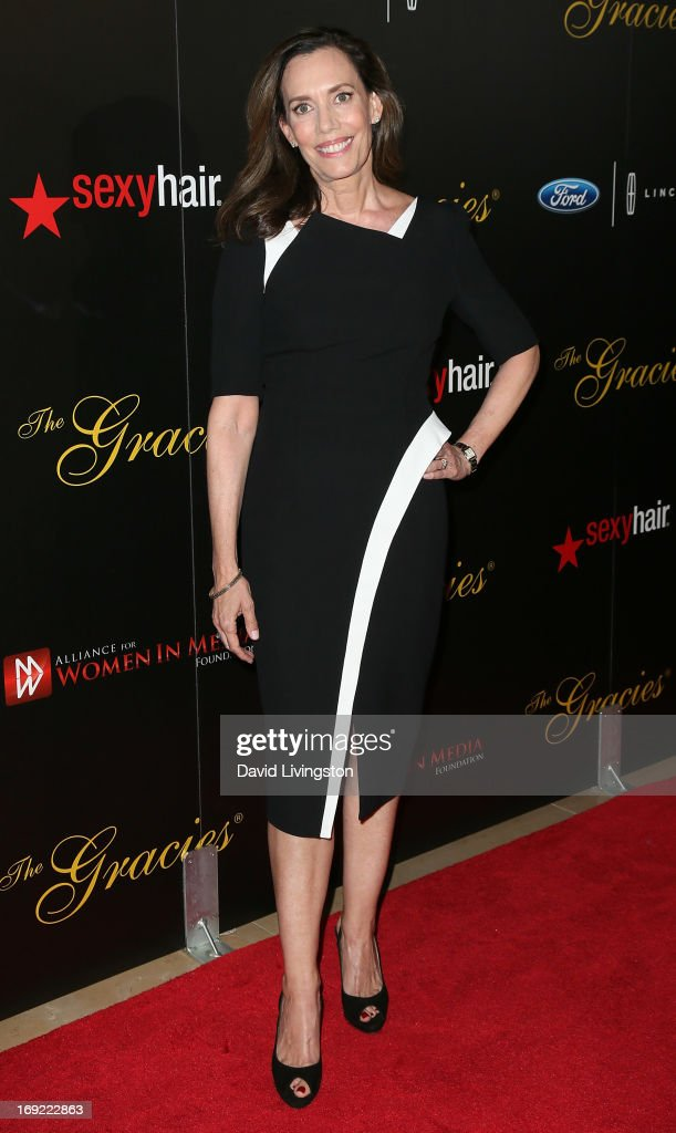 Radio host Jane Williams attends the 38th Annual Gracie Awards Gala at The Beverly Hilton Hotel on May 21, 2013 in Beverly Hills, California.