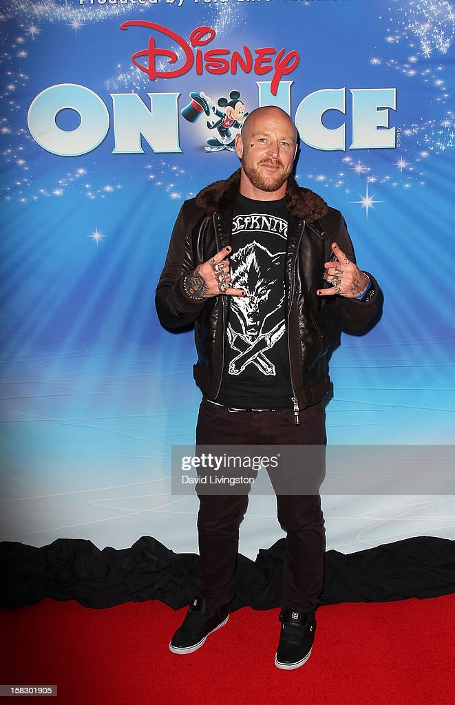 Radio host Jason Ellis attends the opening night of Disney On Ice's 'Dare To Dream' at LA Kings Holiday Ice at L.A. LIVE on December 12, 2012 in Los Angeles, California.