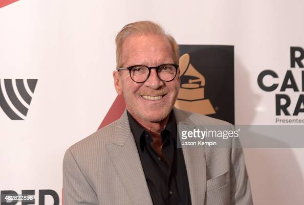 Radio host Pat O'Brien poses backstage at The GRAMMYs Westwood One Radio Remotes during The 57th Annual GRAMMY Awards at Staples Center on February 5...