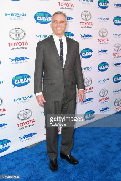 Radio host Robert F Kennedy Jr attends Keep it Clean Live Comedy Benefit for Waterkeeper Alliance at Avalon Hollywood on April 20 2017 in Los Angeles...