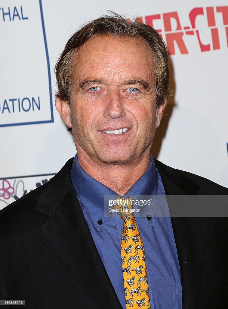 Radio host Robert F. Kennedy, Jr. attends the Inner-City Arts 2013 Imagine Gala at the Beverly Hilton Hotel on October 30, 2013 in Beverly Hills, California.