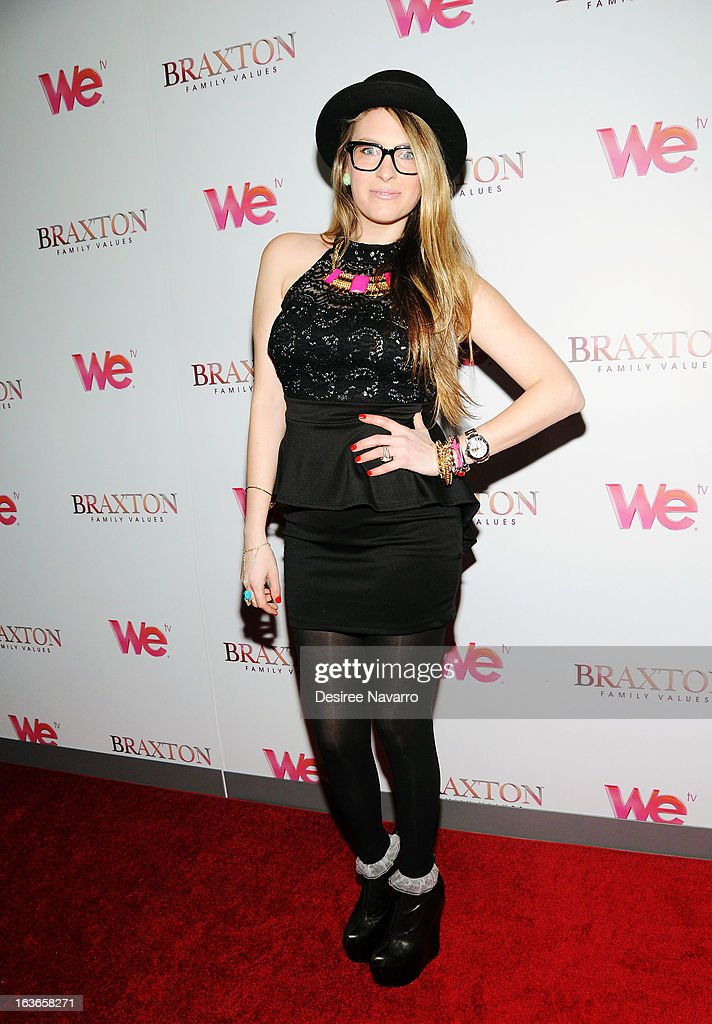 Radio Host, Z100 New York, Erica America attends the 'Braxton Family Values' Season Three premiere party at STK Rooftop on March 13, 2013 in New York City.