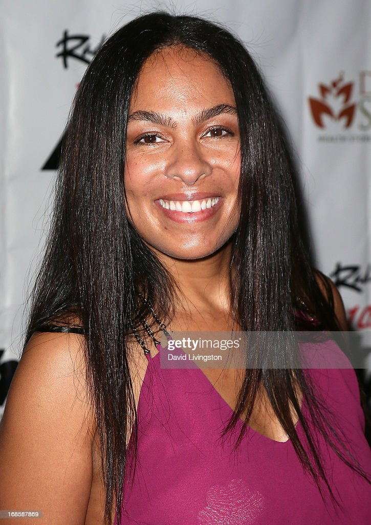 Radio personality Adai Lamar attends Stevie Wonder's 63rd birthday celebration at the House of Music & Entertainment on May 11, 2013 in Beverly Hills, California.