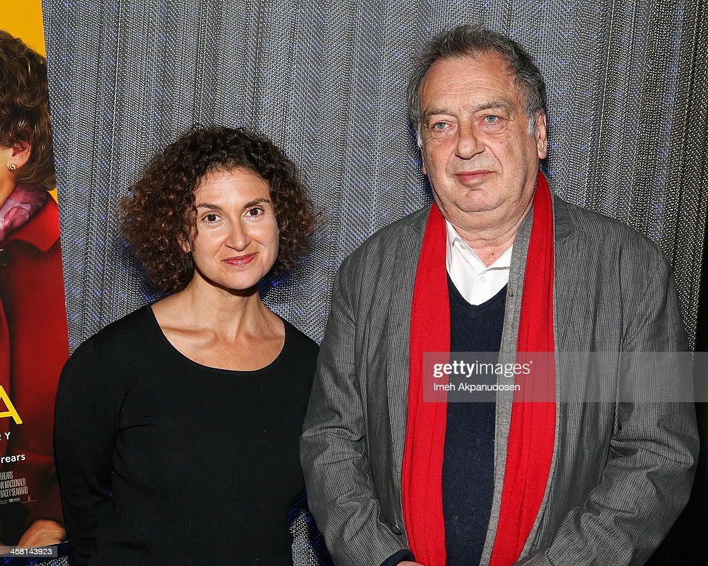 Radio personality Alex Cohen (L) and director <a gi-track='captionPersonalityLinkClicked' href=/galleries/search?phrase=Stephen+Frears&family=editorial&specificpeople=238980 ng-click='$event.stopPropagation()'>Stephen Frears</a> attend the 'Philomena' Town Hall Event and Screening at Museum Of Tolerance on December 19, 2013 in Los Angeles, California.
