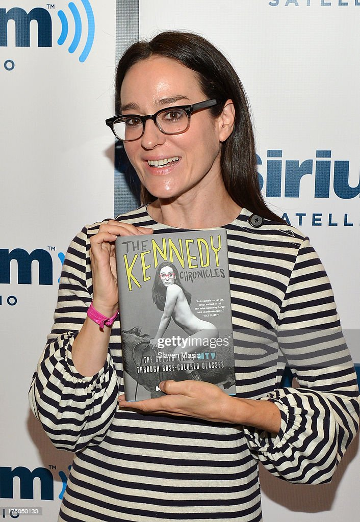 Radio personality and former MTV VJ Lisa Kennedy visits SiriusXM Studios on July 30, 2013 in New York City.