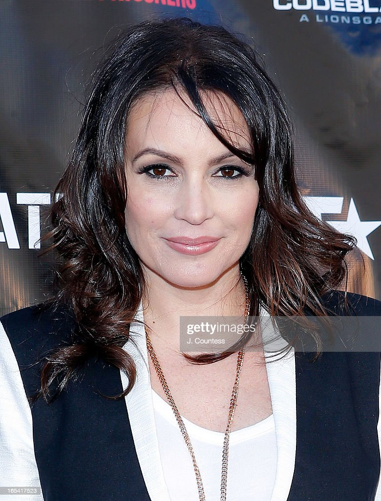 Radio personality Angie Martinez attends the 'Free Angela and All Political Prisoners' New York Premiere at The Schomburg Center for Research in Black Culture on April 3, 2013 in New York City.