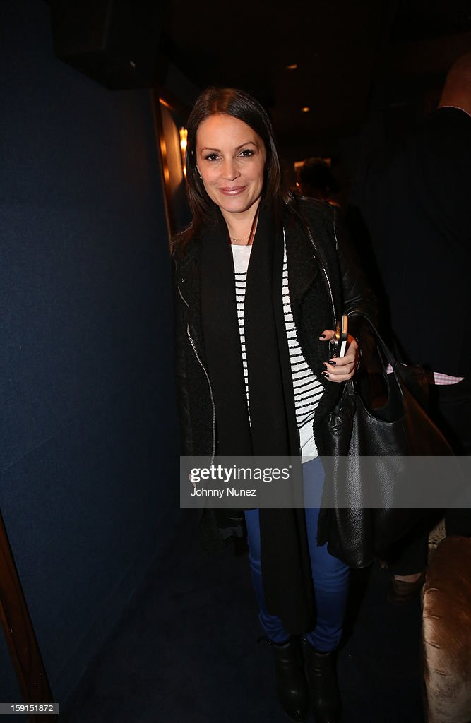 Radio personality Angie Martinez attends the 'LUV' Tastemaker Screening at Soho House on January 8, 2013 in New York City.