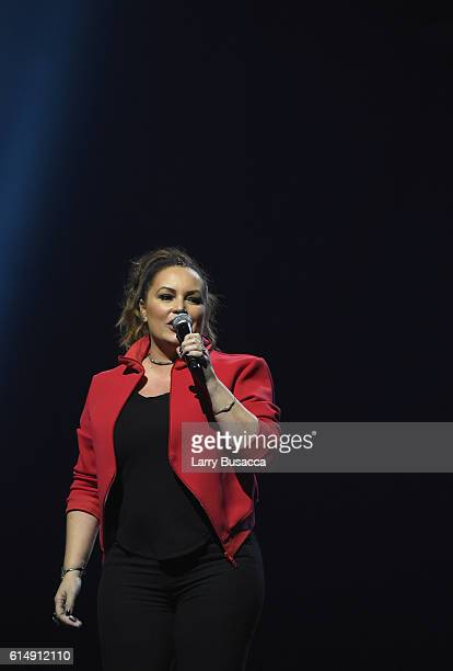 Radio personality Angie Martinez speaks onstage during TIDAL X 1015 on October 15 2016 in New York City