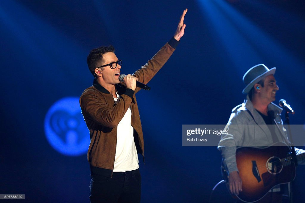 Radio personality Bobby Bones speaks onstage during the 2016 iHeartCountry Festival at The Frank Erwin Center on April 30, 2016 in Austin, Texas.