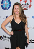 Radio Personality Brandi Garcia attends the 5th Annual Variety Texas Hold 'Em poker tournament benefiting The Children's Charity Of SoCal at...